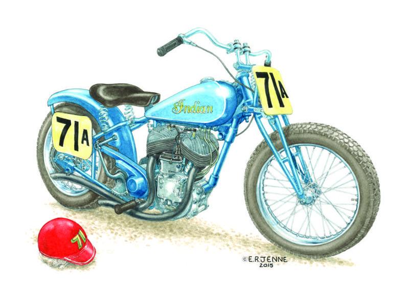 ERJ - 'Sport Scout 71A' print